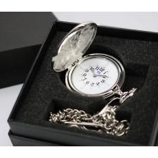 Orologio tattile base da taschino cromato