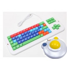 Combo Mouse Bigtrack 2.0 e Tastiera Didakeys