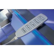 Regolazione altezza elettrica con pulsantiera (F - Alux)