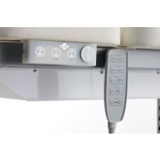 Regolazione altezza elettrica con pulsantiera (M - Alux)