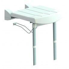 Sedile ribaltabile morbido XL Extralight® con gambe
